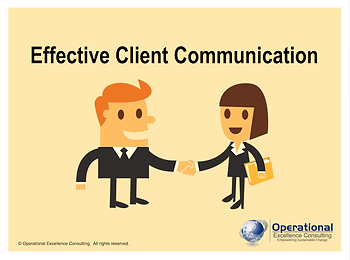 PPT: Effective Client Communication Training Presentation