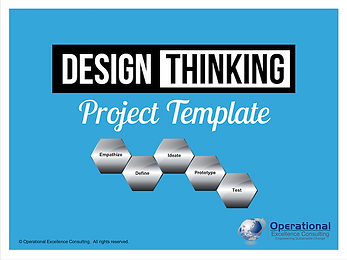PPT: Design Thinking Project Template