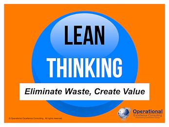 PPT: Lean Thinking Training Presentation