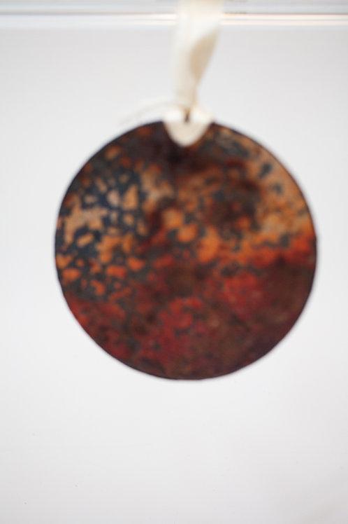 Ornament - Lift Bridge Rust: Leopard Print