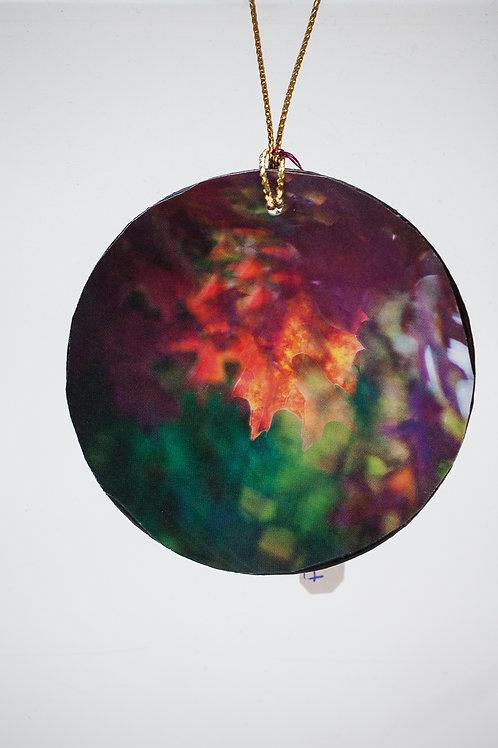 Ornament -Fall Leaves Maple
