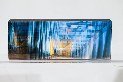 10x10 Metallic Print Mounted on Panel