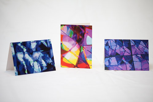 Notecard pack of 6 - Surface Night Lights