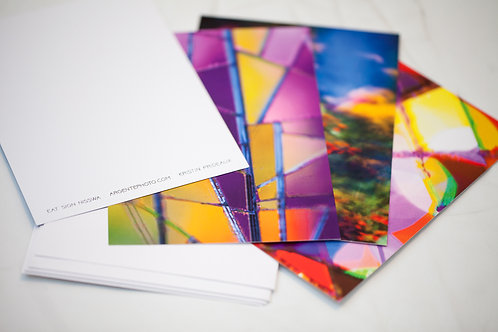 Postcard pack of 8 - Surreal Pink Series
