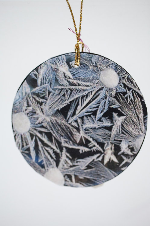 Ornament - Garland Frost