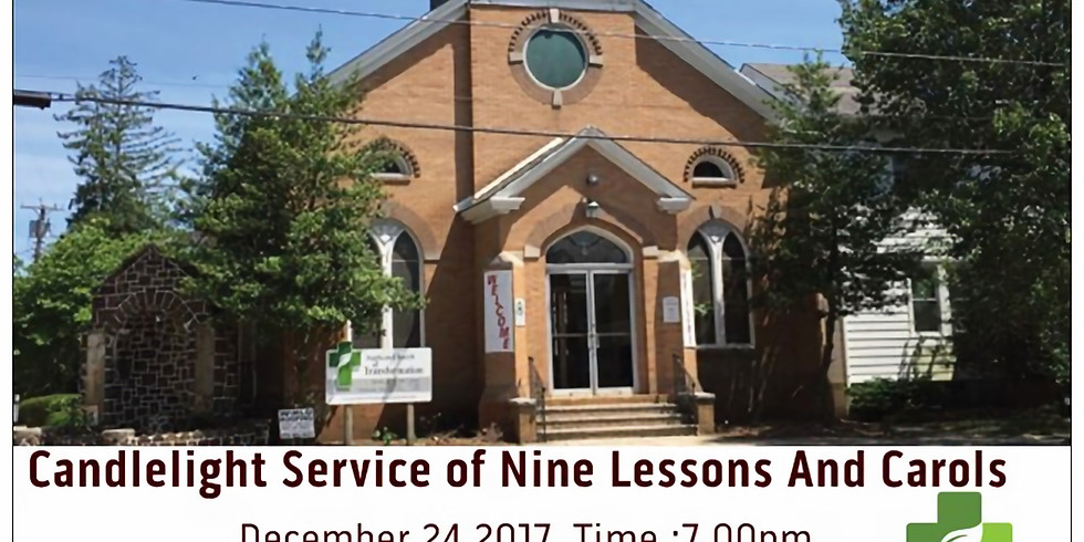 2017 Christmas Eve Servive of Nine Lessons And Carols