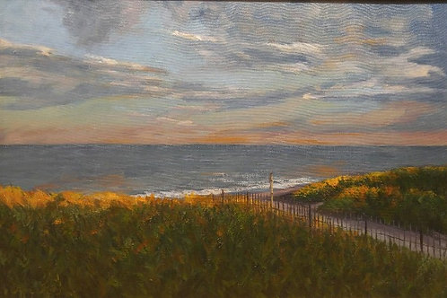 "Connecticut Coast (24"" x 36"")"