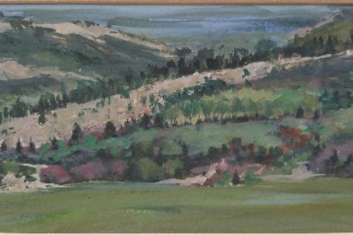 "Morrison Hogback (Colorado) (6""x 15"")"
