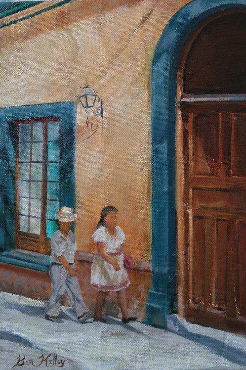 "Old Sidewalks (11"" x 14"")"
