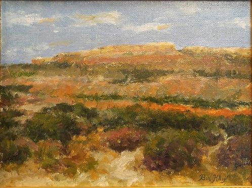 "Paloduro Canyon (Texas) (12"" x 16"")"