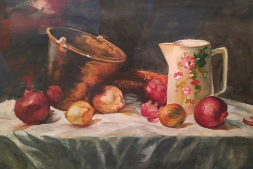 """Copper with Onions (14""""x 20"""")"""