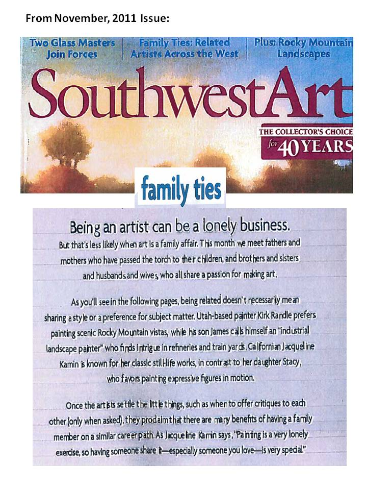 Southwest Art Page 1