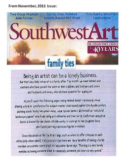 Southwest Art Page 1