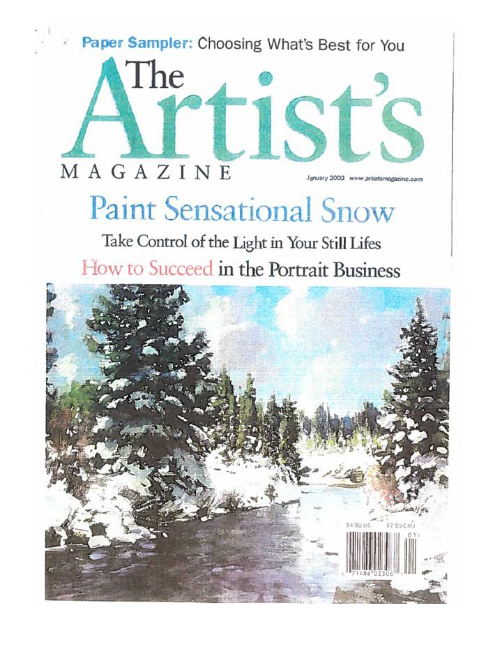 The Artist's Mag Page 1