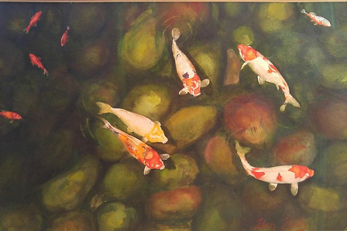 """Cool Clear Water (13""""x 20"""")"""