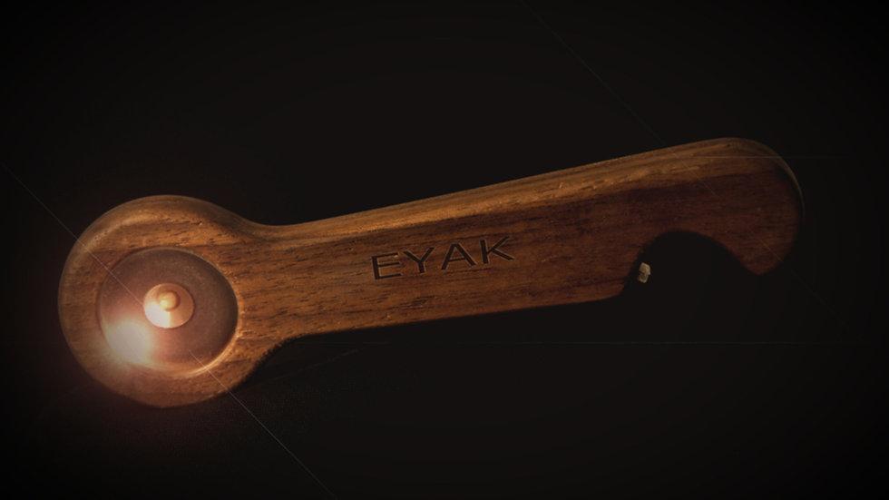 EYAK GC aus WALNUSS - Fischentschupper - Fish Scaler