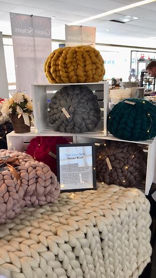 Chunky Knit Pillow Cushions