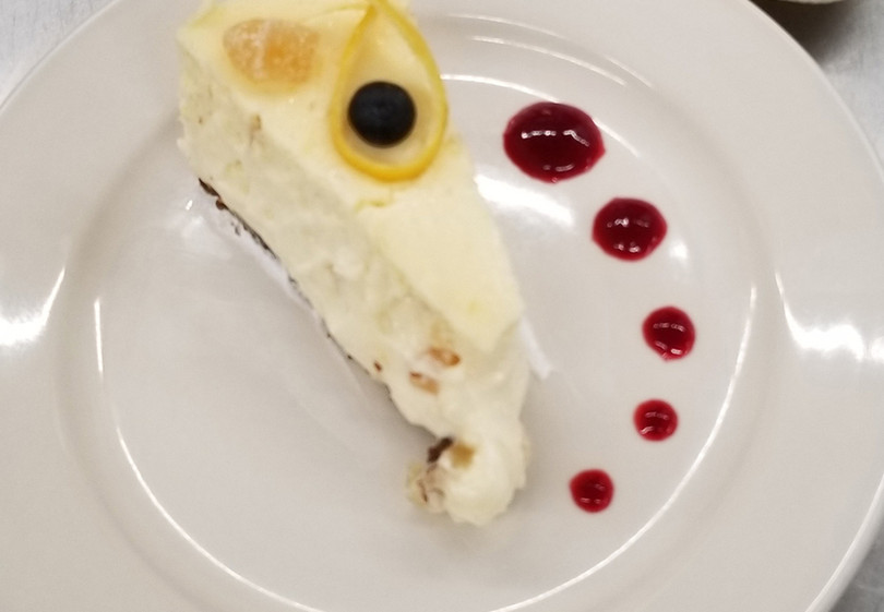 Lemon-Ginger Cheesecake