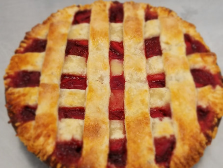 Smoked Strawberry Pie