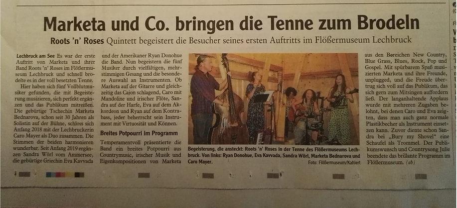 Zeitungsartikel_Flössermuseum_Lechbruck_