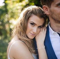 שירה כלה בתמונה מיום החתונה