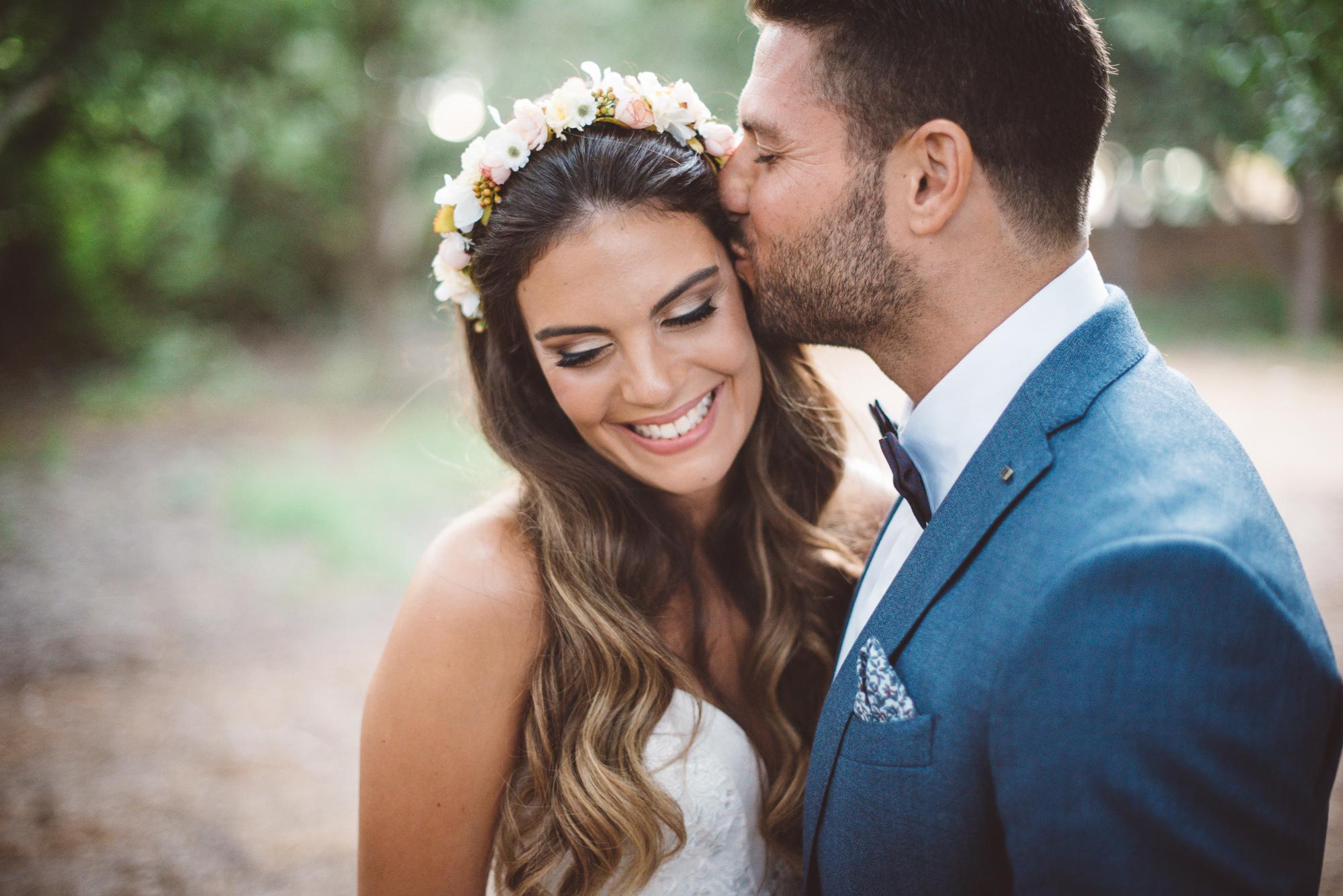 ירדן ואיתי ביום החתונה