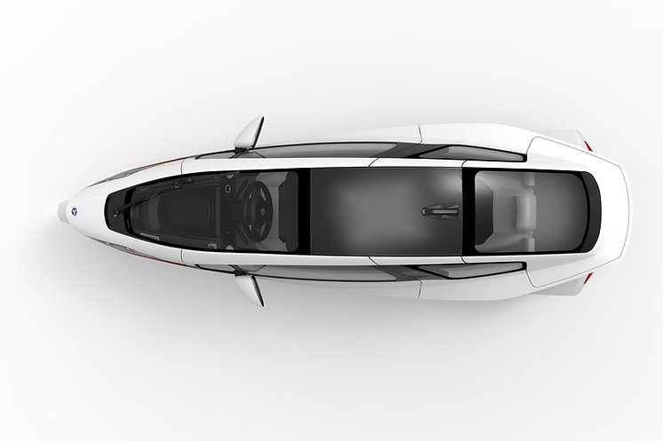 Electric aerodynamic 3 wheel vehicle that tilts.