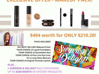 Makeup Pack Offer - LIMITED TIME