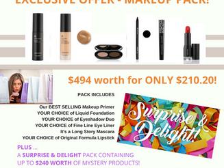 Makeup Pack Offer - LIMITED TIME
