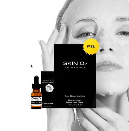ULTRACLEAR SERUM / BRIGHTENING MASK PACK