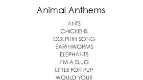 Two Vegan Sisters - Animal Anthems CD