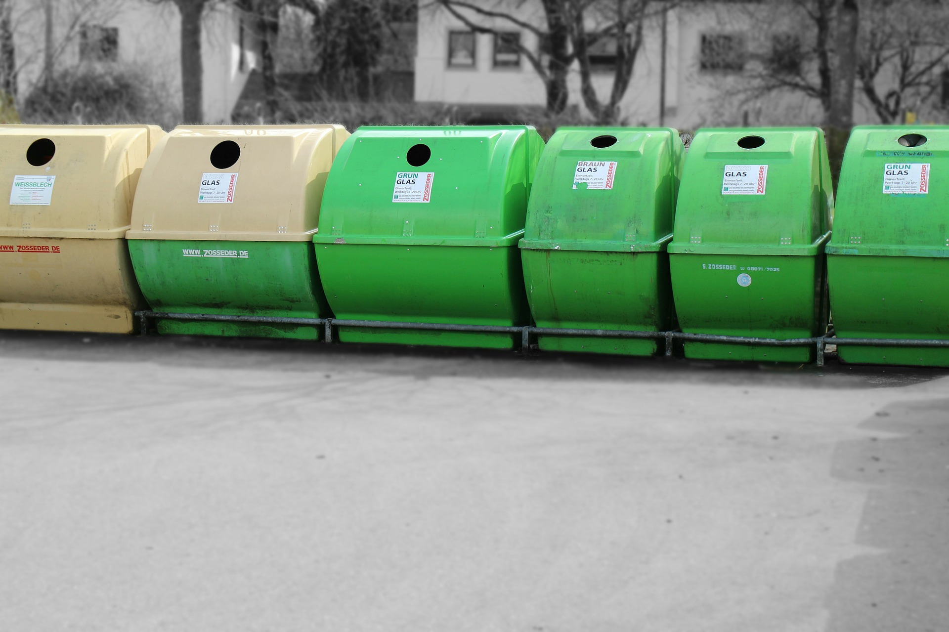 Service Garbage Dump Recyclage