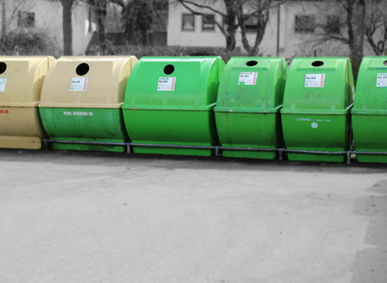 Müllkippe Recycling Service