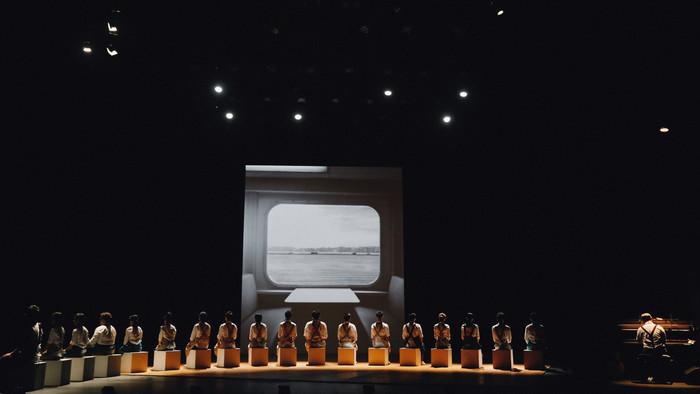 《梁祝的繼承者們》(三度公演) ── 颱風下的演出安排