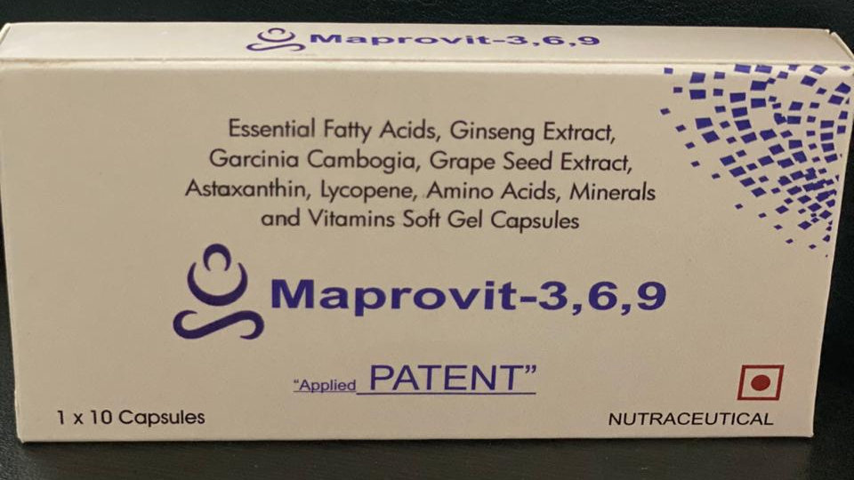 Maprovit 3,6,9 (Trial Pack of 10 softgels))