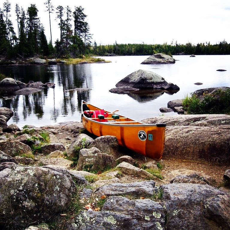 Kevlar Canoe in the Boundary Waters