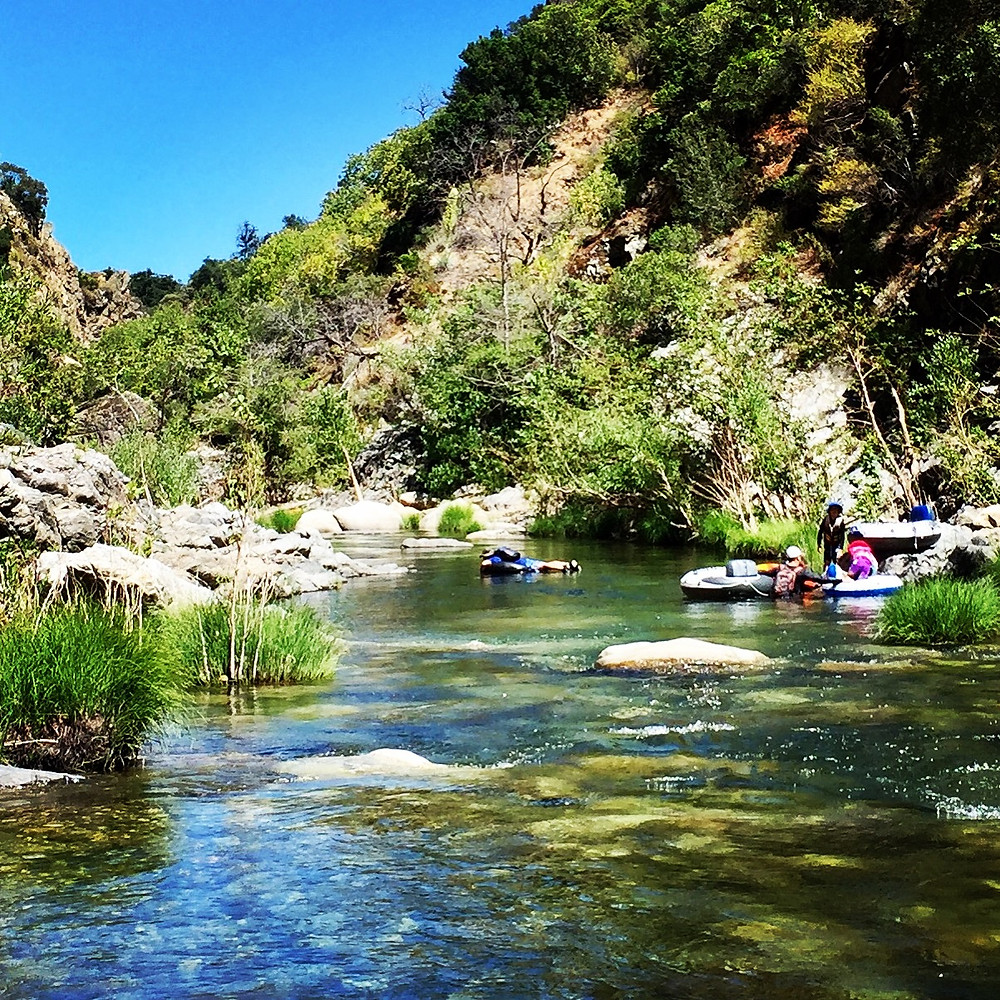 Floating the Arroyo Seco