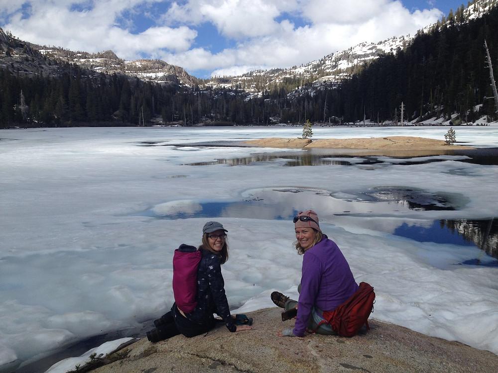 Frozen Bear Lake