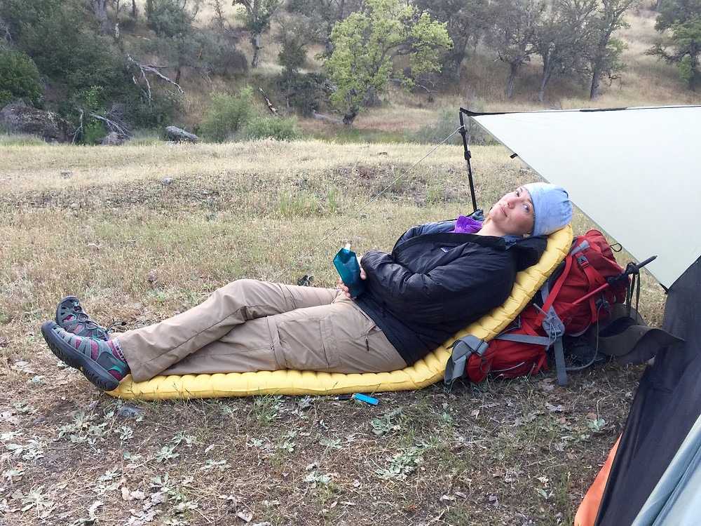 Backpacking Relaxation