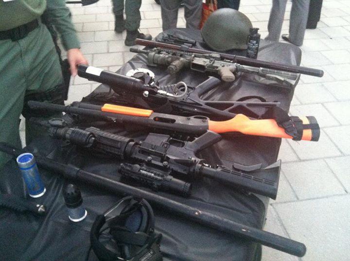 Law Enforcement Weapons