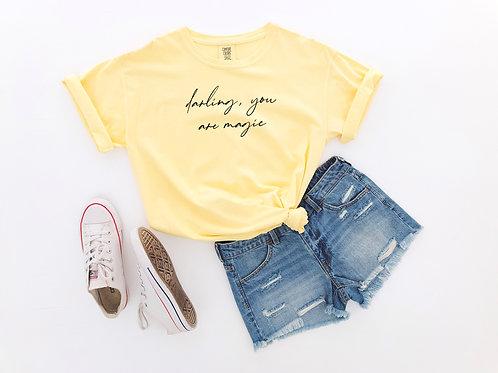 darling, you are magic (Yellow w/ Black)
