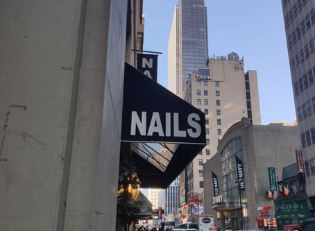 Le Nail à New-York.