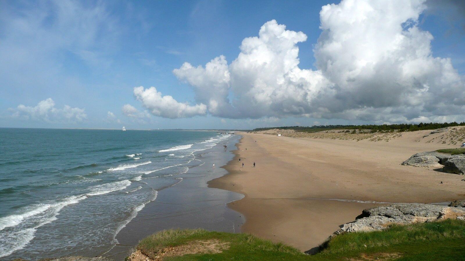 plage de la cote atlantique