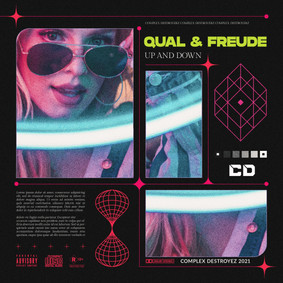 QUAL & FREUDE - Up and Down [OUT NOW]