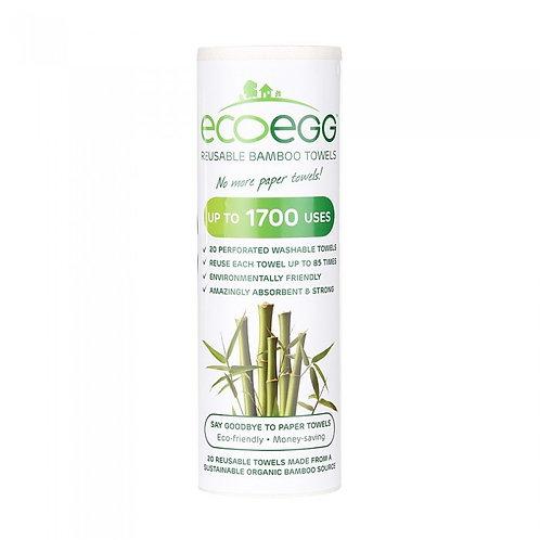 Ecoegg bambuskøkkenrulle
