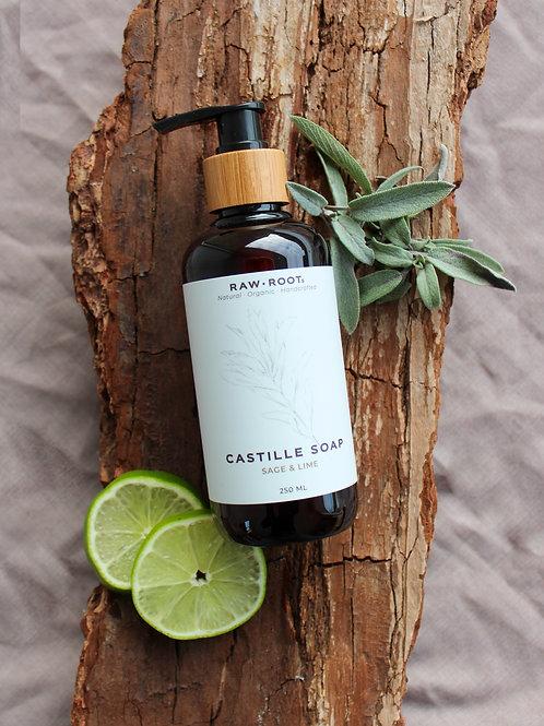 Castille sæbe med salvie- og lime
