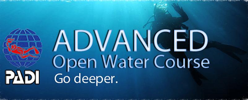 PADI Advanced Open Water certification