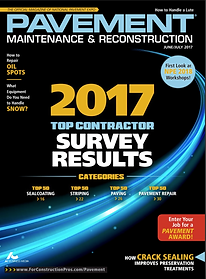 2017 top paving contractor