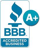 A+ Better Business Bureau accredited