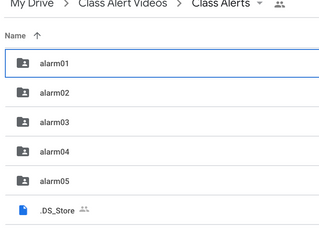 Setting up Video Alerts for Your Remote Class Times